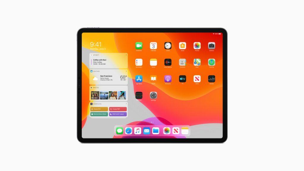 iPadOS iPad Pro