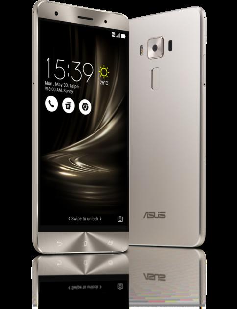 ASUS ZenFone 3 Deluxe design