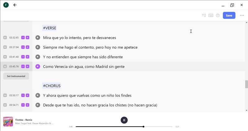Musixmatch edit lyrics