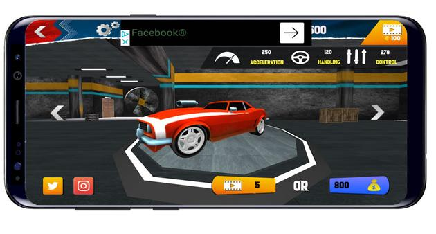 Car selection in Hot Wheels Race off