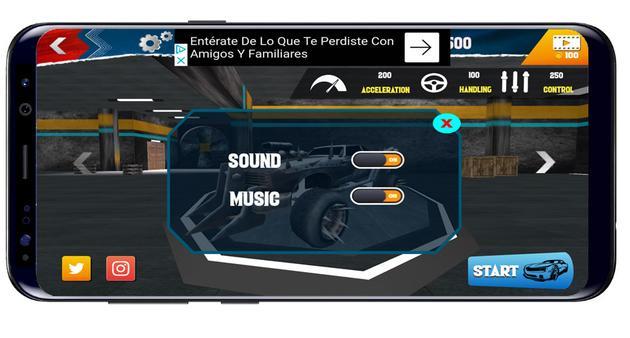 Options on Hot Wheels Race off