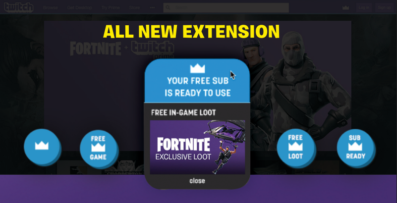 Prime Subscription and Loot Reminder