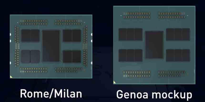 AMD EPYC Zen 4 Mock-Up