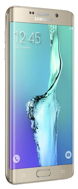 Samsung Galaxy S6 edge + gold