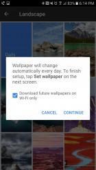 Pixel Launcher Gallery Options