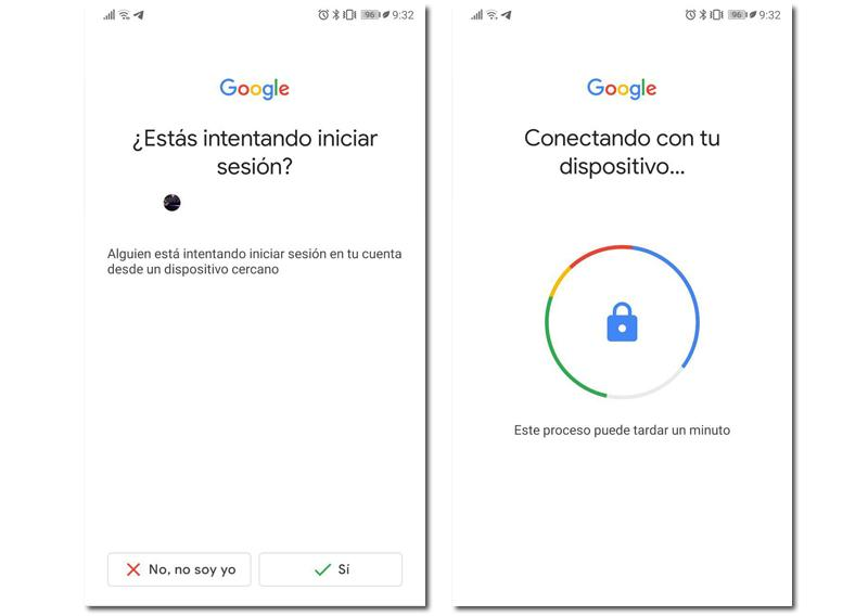 android login security key