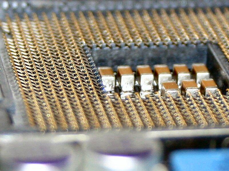 CPU socket pins