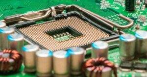 Pins, socket, CPU and contacts, this is how an architecture…