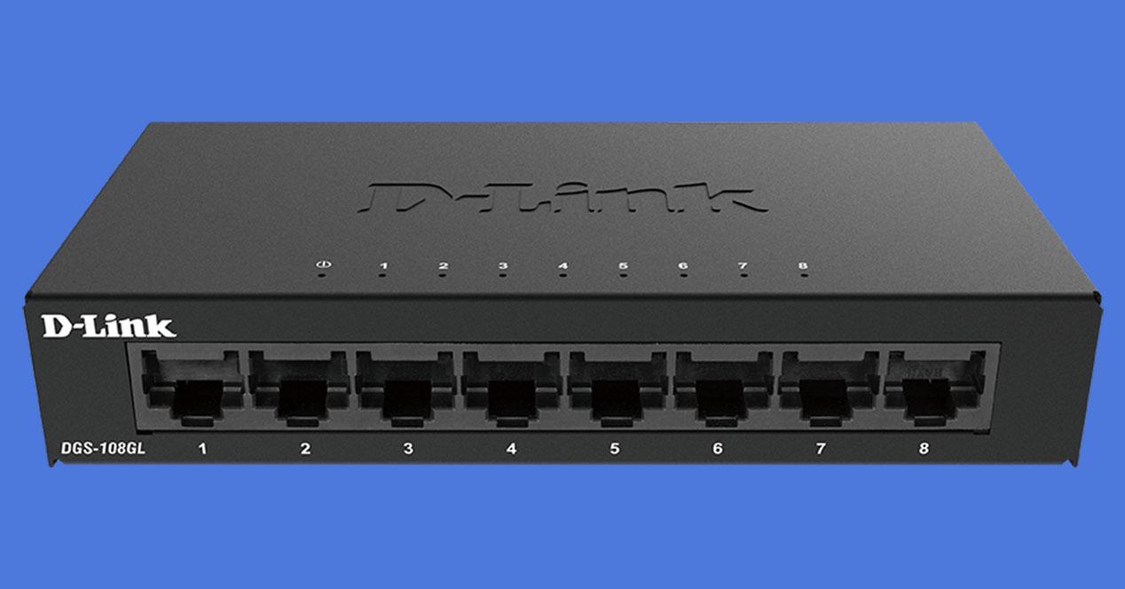 Low price switch analysis with 8 Gigabit ports