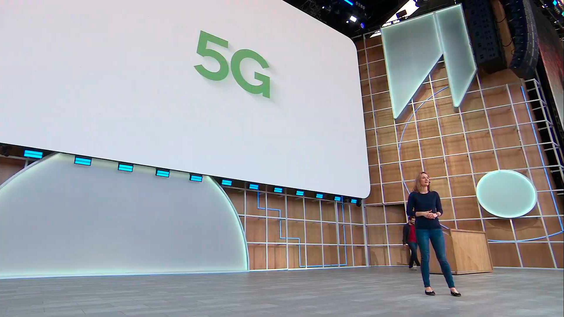 Google I / O 5G
