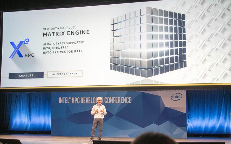 Intel Xe Matrix Engine
