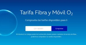 O2 mobile and fiber rates will appear after entering zip…