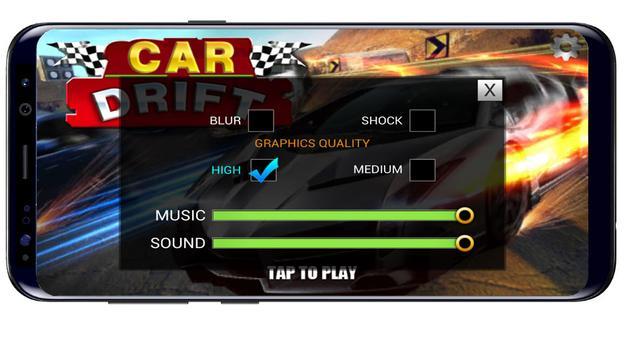 settings in Car Drift