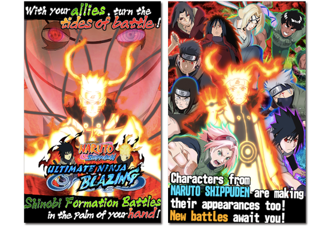 Official images of Ultimate Ninja Blazing