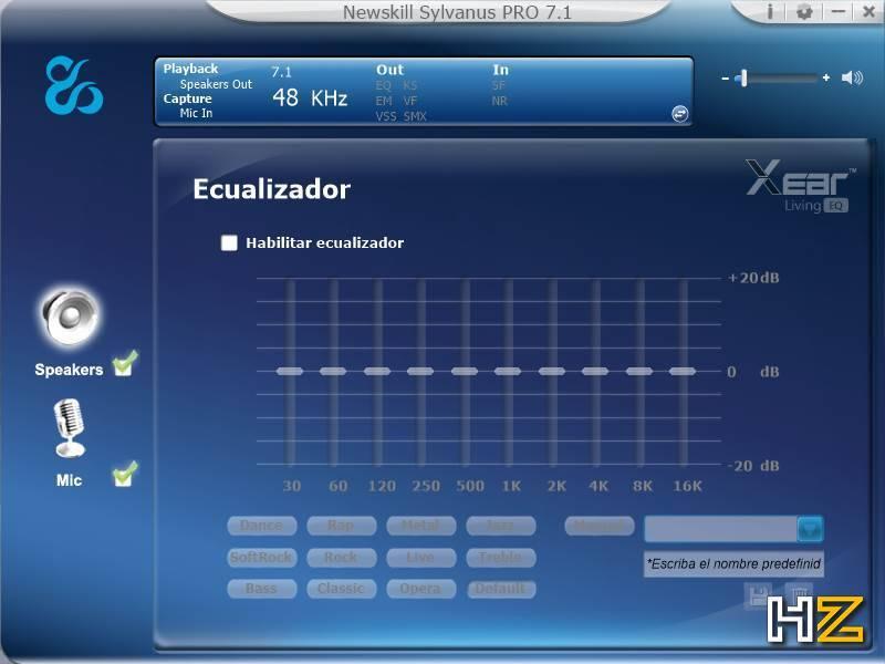 Newskill Sylvanus PRO - software 4