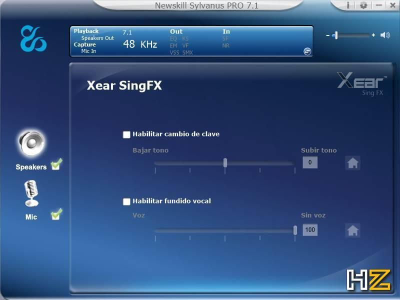 Newskill Sylvanus PRO - software 7