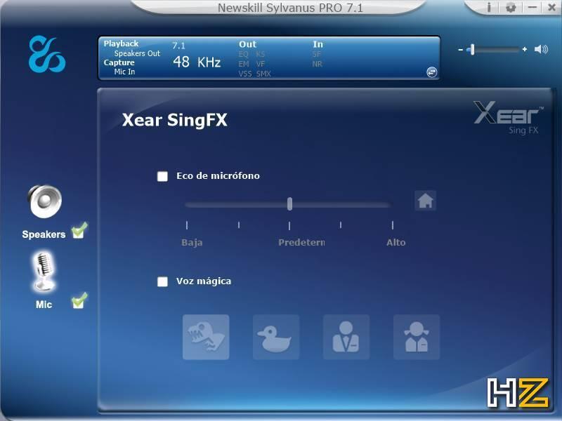 Newskill Sylvanus PRO - software 11