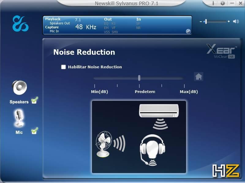 Newskill Sylvanus PRO - software 12