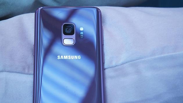 Galaxy S9 Plus official features fingerprint reader