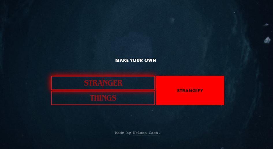 Strangify