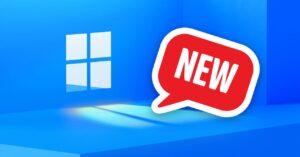 New Settings panel in Windows 10 Sun Valley update