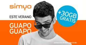 Summer promotion Simyo de Orange with 30GB free to browse