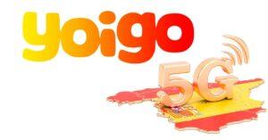 5G Yoigo coverage in June 2021: list 340 Spanish cities