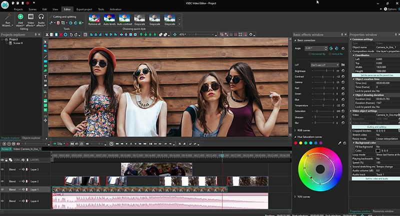VSCD Free Video Editor