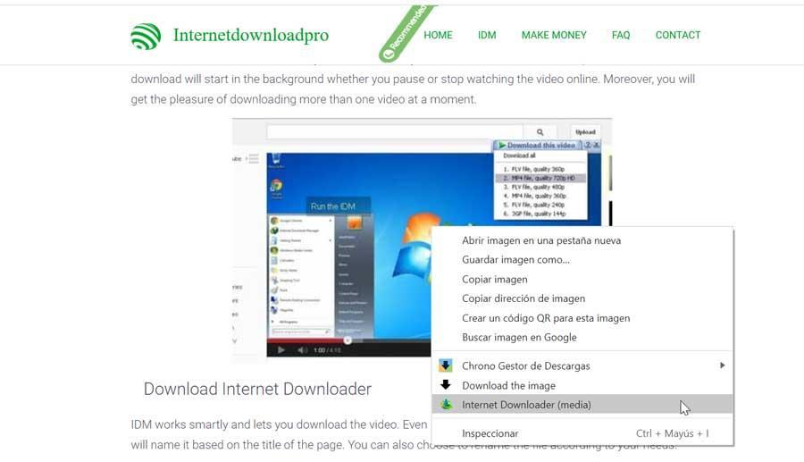 Internet Downloader download manager