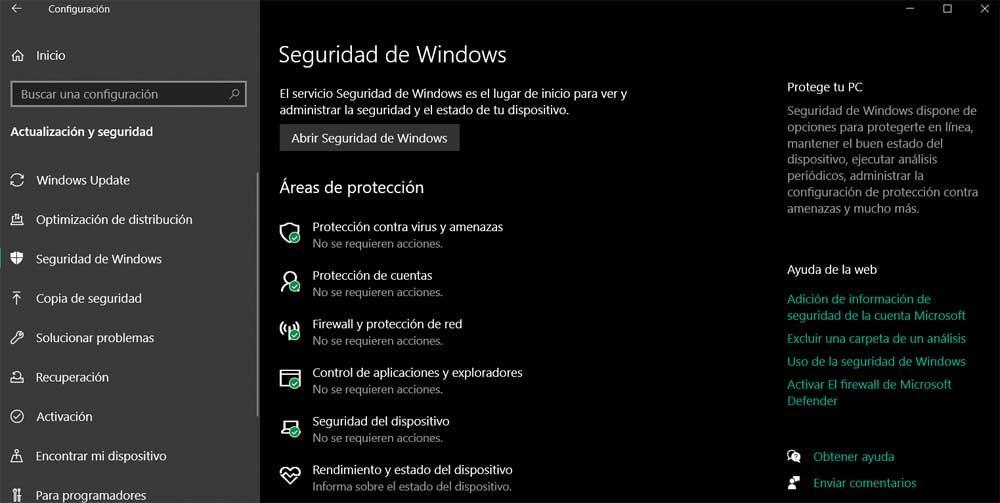 Windows defender general