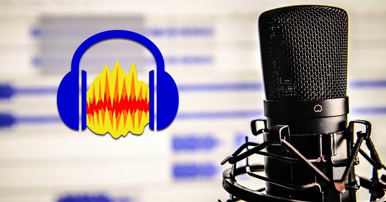 How to record an audio file with our own voice with Audacity