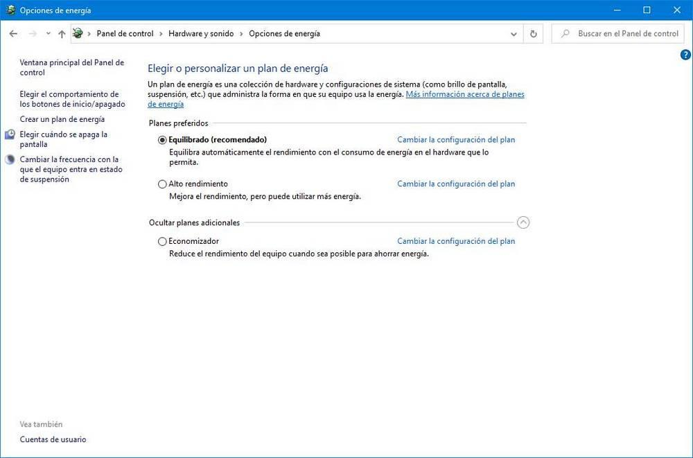 Windows Power Profiles