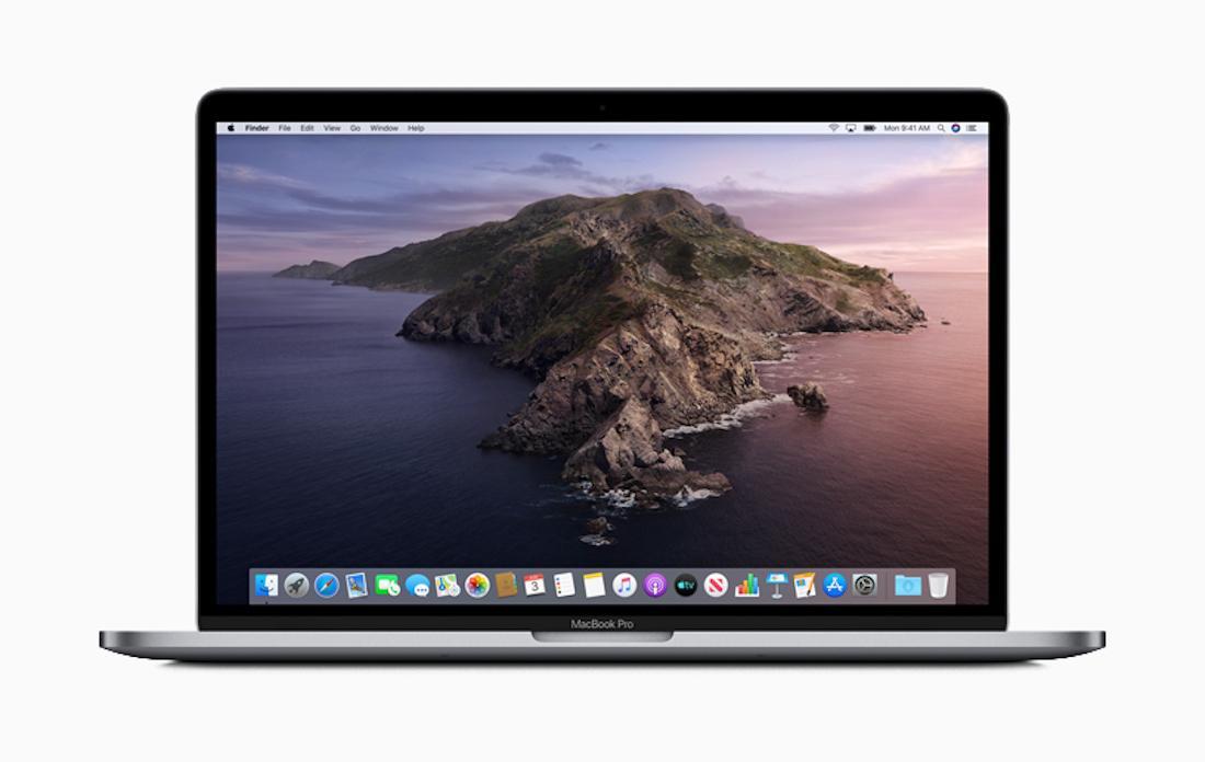 macOS Catalina on MacBook