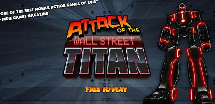 Android game Attack of the Wall Street Titan