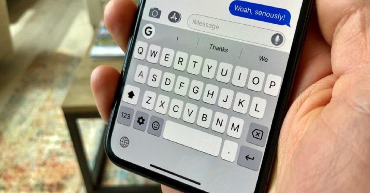 keyboard iphone