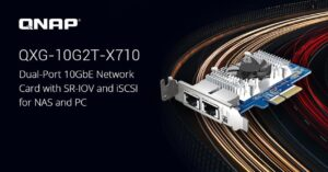 Features new 10G network card