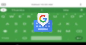 Gboard will adapt its colors to the accent colors you…