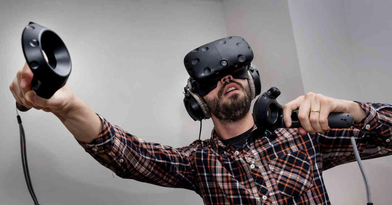 Hardware configuration to mount a PC for Virtual Reality