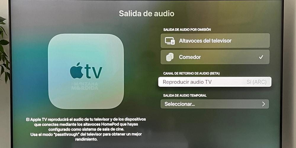 connect homepod to apple tv