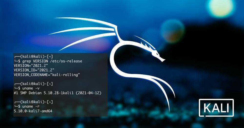 Kali Linux 2021.2