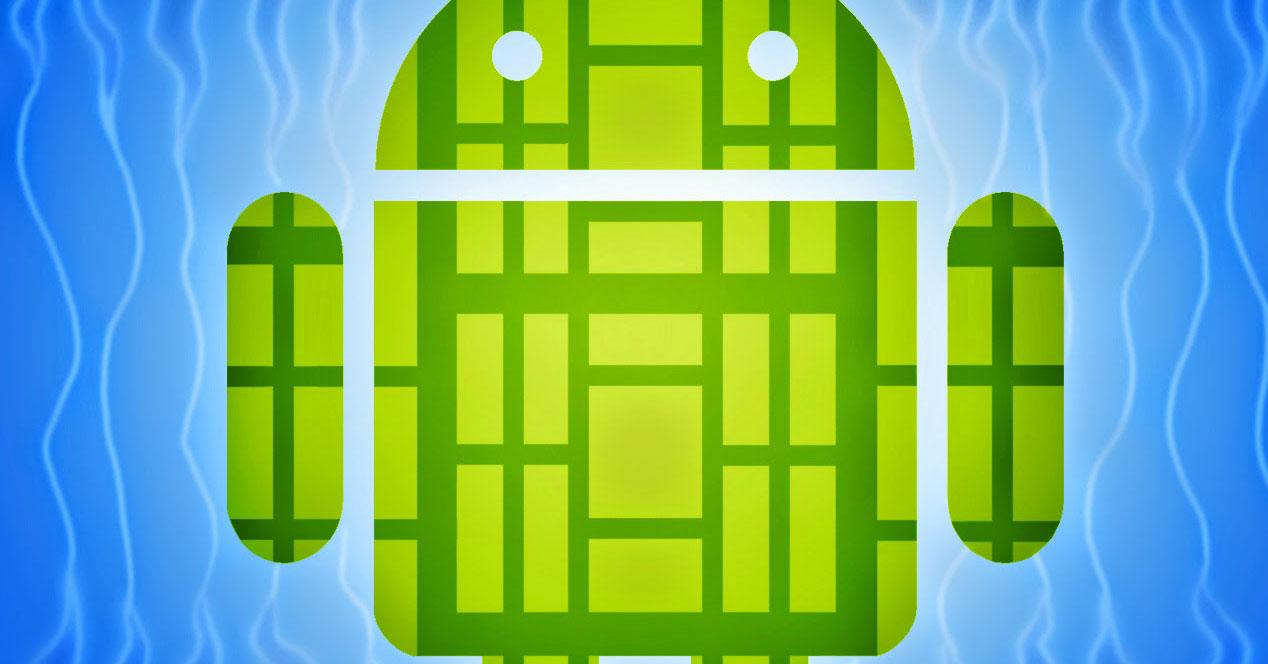 Android logo for the scene