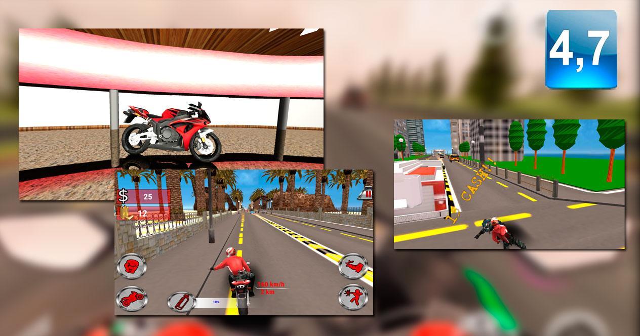 Game Moto Rider Death Racer
