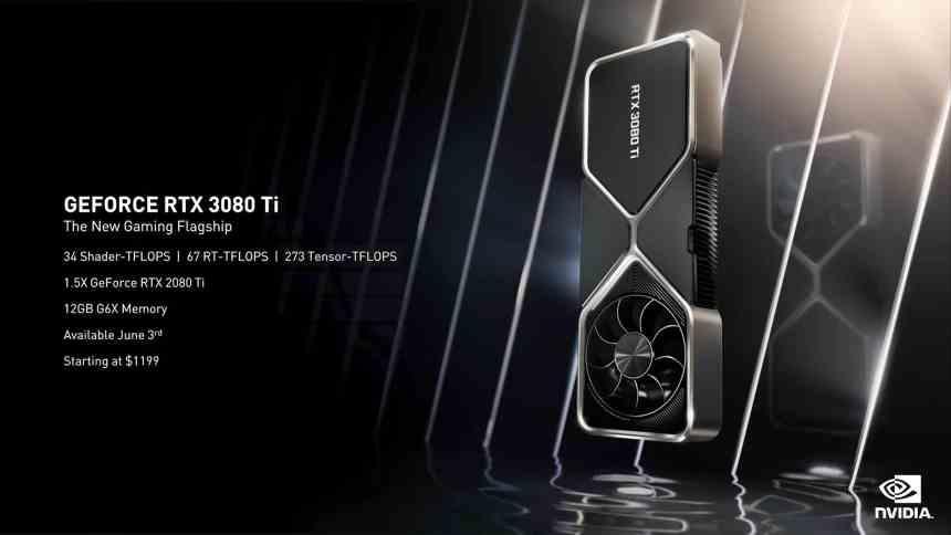 RTX 3080 Ti NVIDIA