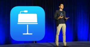 Present Keynote without getting lost – how to add notes