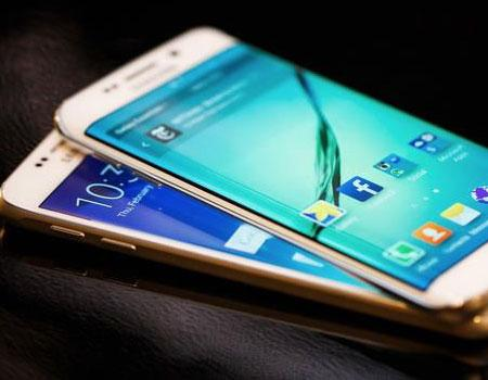 Image of the Samsung Galaxy S6 and Galaxy S6 Edge