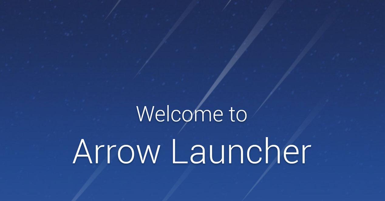 New development of Microsoft Arrow Launcher