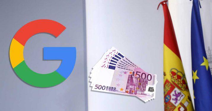 google spain rate