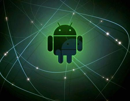 Android logo opening