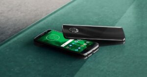 The manual mode of the Moto G6: control each section…