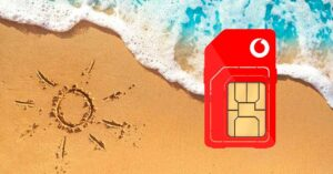 Vodafone doubles the data on prepaid rates for the summer